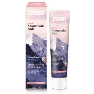 Dental Clinic 2080 Pure Mountain Salt Mild Mint Зубная паста Розовая Гималайская соль 120 г 9