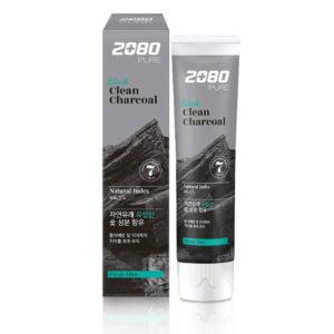 Dental Clinic 2080 Pure Black Clean Charcoal/Fresh Min Зубная паста Уголь И Мята 120 г 6