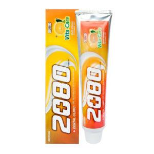 Dental Clinic 2080 Vita Care Coenzyme Q 10 Зубная паста Витаминный Уход 120 г 3