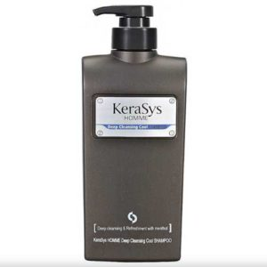 Kerasys Homme Deep Cleansing Шампунь Освежающий мужской, 550 мл 26