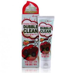 Зубная паста кремовая с очищающими пузырьками Mukunghwa Dubble Clean грейпфрут, 110 г 3