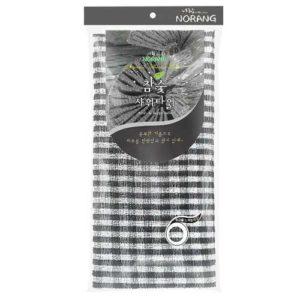 Norang Массажная мочалка с древесным углем Charcol Massage Shower Towel 4