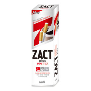 Зубная паста Lion Zact Plus, 150 мл 4