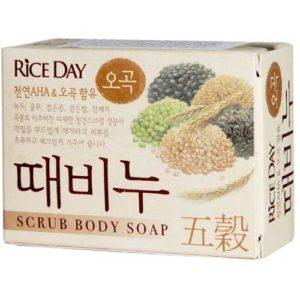 Rice Day Мыло туалетное с эффектом скраба пять злаков Five Grains, 100 г 46