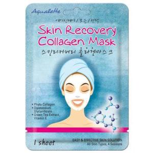 Aqualette Маска для лица восстанавливающая с коллагеном Skin Recovery Collagen Mask, 17 мл 52