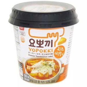 Yopokki Токпокки сырный (мягкие рисовые палочки с соусом) Cheese Topokki, 120 г 16