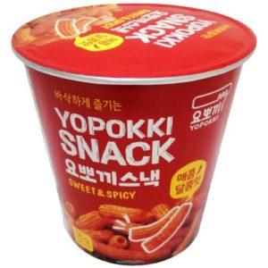 Yopokki Снеки сладко-острые Sweet & Spicy из рисовой муки, 50 г 13
