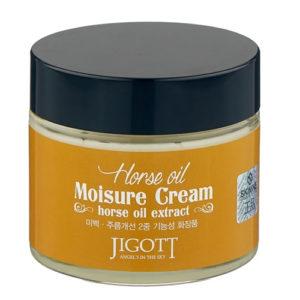Jigott Horse Oil Moisure Cream Увлажняющий крем для лица с лошадиным маслом, 70 мл 28