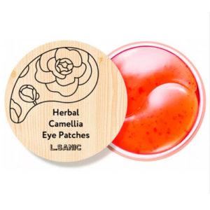 L.Sanic Патчи гидрогелевые для области вокруг глаз с экстрактом камелии, 60 шт 6
