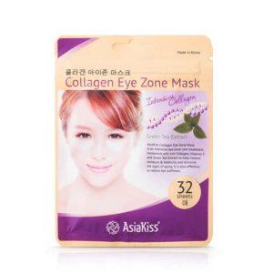 Asiakiss Патчи для области под глазами Collagen с коллагеном и экстрактом зелёного чая, для чувствительной кожи век (32 шт х 0.78 г) 6