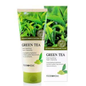 Foodaholic Очищающая пенка с зеленым чаем, 180 мл 22