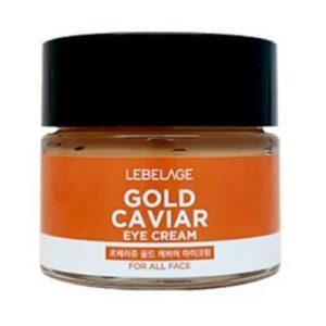 Lebelage Крем для ухода за кожей вокруг глаз с экстрактом золотой икры, 70 мл 64