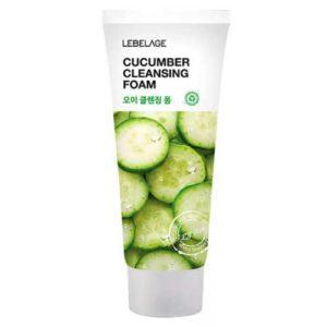 Lebelage Пенка очищающая Cucumber для всех типов кожи, 100 мл 28