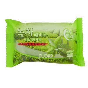 Juno Мыло для рук и тела с экстрактом зелёного чая Peeling Soap, 150 г 30