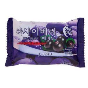 Juno Мыло с отшелущивающим эффектом с экстрактом ягоды асаи Peeling Soap, 150 г 33