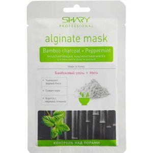 Shary Professional Маска альгинатная моделирующая с бамбуковым углём и мятой контроль над порами Alginate Mask Bamboo Charcoal + Peppermint, 28 г 22