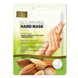 El'Skin Маска-перчатки для рук миндаль питательная, 33 г 2