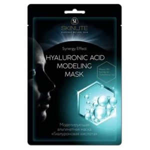 Skinline Маска альгинатная моделирующая гиалуроновая кислота для обезвоженной кожи (маска 50 г, бустер 4 г, лопаточка) 71