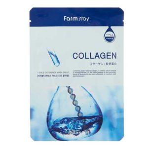 Farmstay Маска тканевая для лица Collagen восстанавливающая, с коллагеном, 23 мл 14