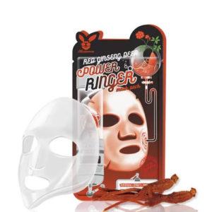 Elizavecca Маска тканевая для лица успокаивающая с экстрактом красного женьшеня, 23 мл 16