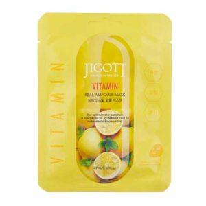 Jigott Ампульная маска с витаминами, 27 мл 5