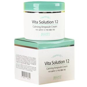 Jigott Крем ампульный успокаивающий Vita Solution 12 Calming Ampoule Cream, 100 мл 61