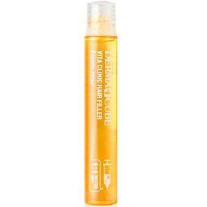 Farmstay Филлер для волос Vita Clinic с витаминным комплексом (кератин, керамиды, гидролизованный коллаген, гидролизованный шелк), 13 мл 17