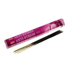 Благовония Anti-Stress угольные бамбуковые (аромопалочки, 8 шт) 1