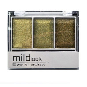 Mildlook Тени для век 3 цвета Eyeshadow, 5033, тон 08, 6 г 2